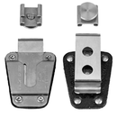 Icom-Accessory-ICOM AW STUD/SWIVEL KIT-ICOM AW STUD/SWIVEL KIT, Metal stud that slides on like a belt clip and which is attached to a strong metal swivel belt clip-Radio Depot