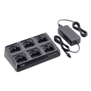 Icom-Accessory-ICOM BC197 22 Six Unit Charger-ICOM BC197-22 Six Unit Charger for radios with the BP232H battery. Includes AC adapter and cups installed. Works off of 100-240V with US style plug.-Radio Depot