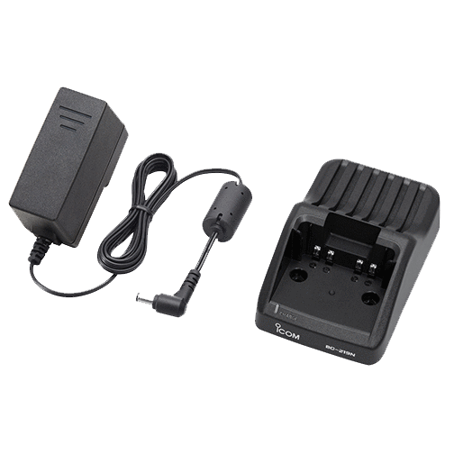 Icom-Accessory-ICOM BC219N Charger-ICOM BC219N Rapid Charger for F52D/F62D; 100-240V with a US style plug-Radio Depot