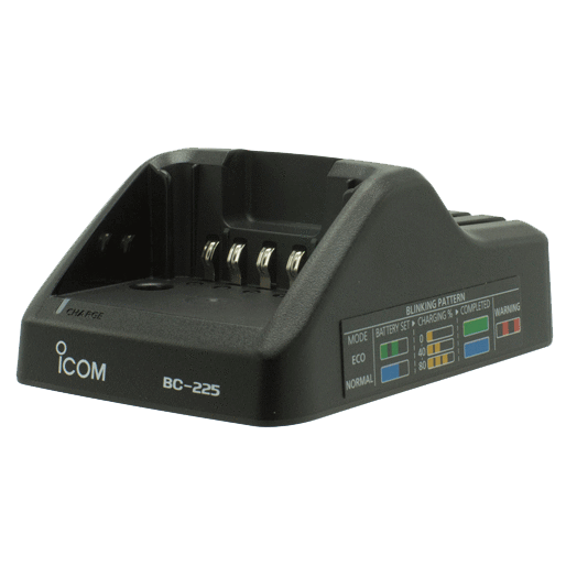 Icom-Accessory-ICOM BC225 Charger-ICOM BC225 Smart Rapid Charger; 100-240V with a US style plug-Radio Depot