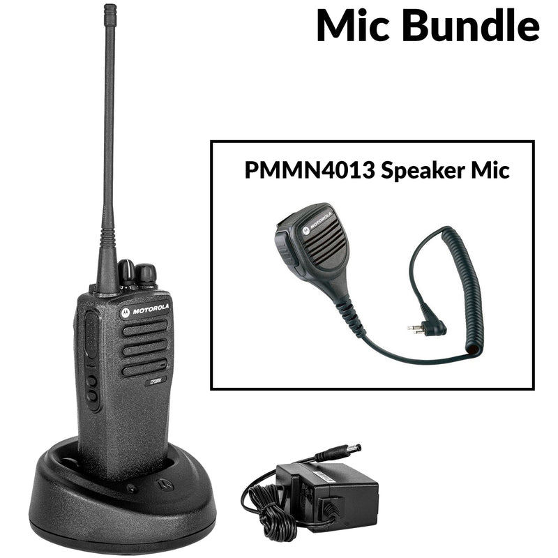 CP200D with PMMN4013 speaker mic