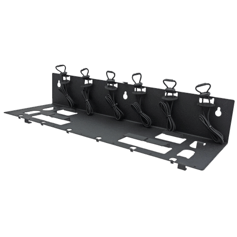 "Power Products-Accessory-Power Products EC6M-MB Mounting Bracket-Power Products EC6M-MB Mounting Bracket for Endura EC6M / EC12M Chargers Also Fits: EC6M-V2, TWC12M. Designed for mounting charger to a vertical or horizontal surface in an office, shop, or vehicle. Includes integrated tie-down straps, fasteners for attaching EC6M-MB to a wall or floor, and straddle bracket to secure charger to bracket. Dimensions (WxDxH): 20.2"" x 6.6"" x 3.9"".-Radio Depot"