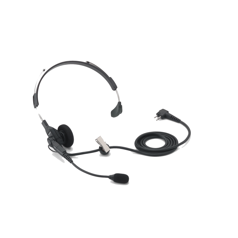 Motorola-Accessory-HMN9013 Headset-Motorola HMN9013 Lightweight Single Muff Headset w/Swivel Boom Mic-Radio Depot