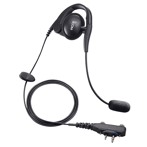 Icom-Accessory-ICOM HS94LWP Headset-ICOM HS94LWP Earhook Headset with boom microphone-Radio Depot