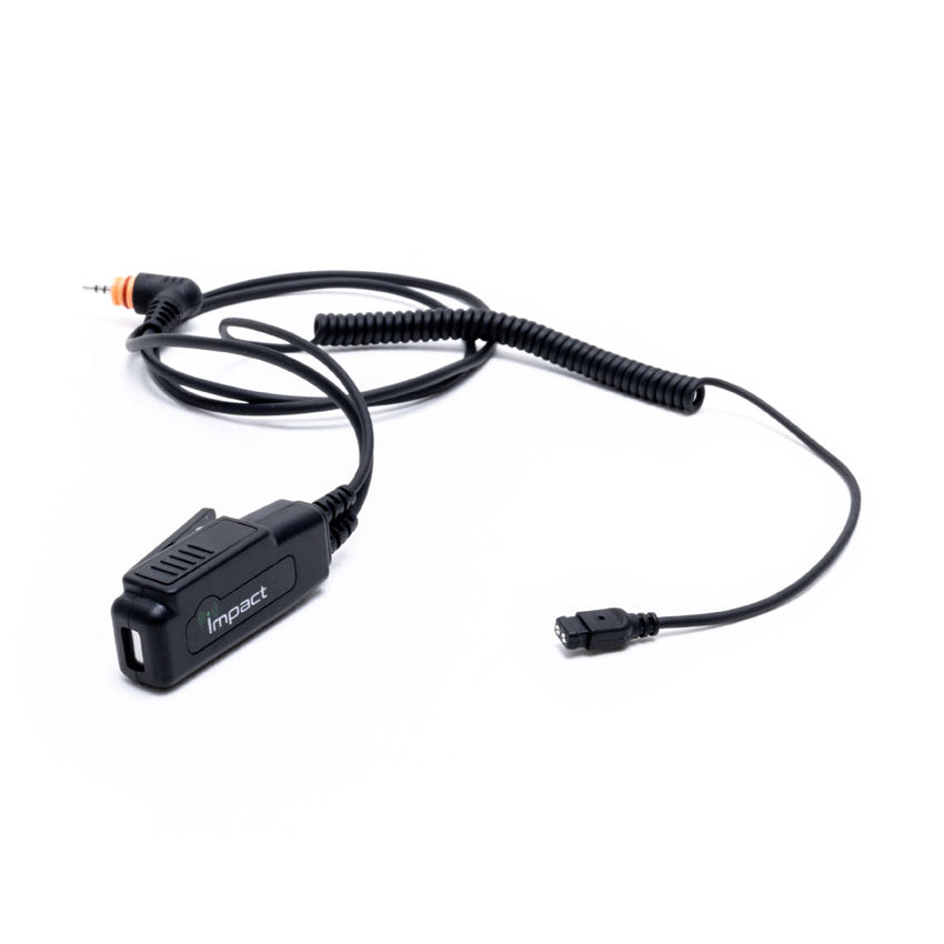 Impact G2w 2 Wire Quick Disconnect Earpiece Radio Depot