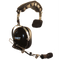 Klein Electronics-Accessory-Comet Headset-Klein Electronics Comet Headset Available in Black Single Muff, Over-the-Head design, Noise Canceling Mechanical Boom Microphone, Earshell PTTNote: Requires a K-Cord Radio Cord for Proper Operation-Radio Depot