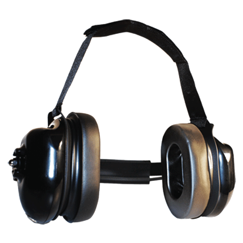 Klein Electronics-Accessory-Titan LO Headset-Klein Electronics Titan LO High Noise Headset Available in Black Dual Muff, Behind-the-Head design (can be worn with a hardhat), Listen-OnlyNote: Requires a K-Cord Radio Cord for Proper Operation-Radio Depot