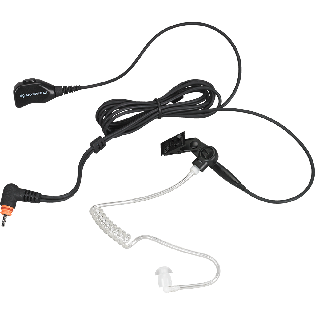 Motorola-Accessory-PMLN7157 2-Wire Surveillance Kit-2-wire surveillance kit features easy accessible microphone and push-to-talk combined. Designed for SL Series Radios.-Radio Depot