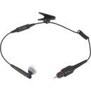 "Motorola-Accessory-NNTN8294 Operations Critical Wireless Earbud-Operations Critical Wireless Earbud with 11.4"" cable, inline mic, BLACK. Must be ordered with NNTN8127 wireless PTT Pod-Radio Depot"