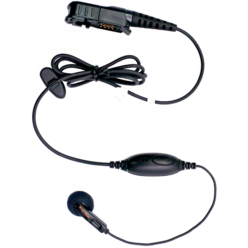 Motorola-Accessory-PMLN5733 Mag one Earbud-Mag One Earbud with inline microphone and PTT-Radio Depot