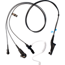 Motorola-Accessory-PMLN6123 IMPRES 3-Wire Kit - Black-IMPRES 3 Wire Surveillance Kit, with Translucent Tube, Black - FM / UL Approved-Radio Depot