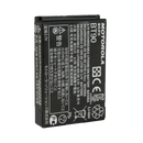 Back view of the Motorola-Accessory-HKNN4013 BT90 Li-ion Battery. This Li-ion battery has a 1800 mAh capacity and is designed to work with all SL7000 series radios.-Radio Depot