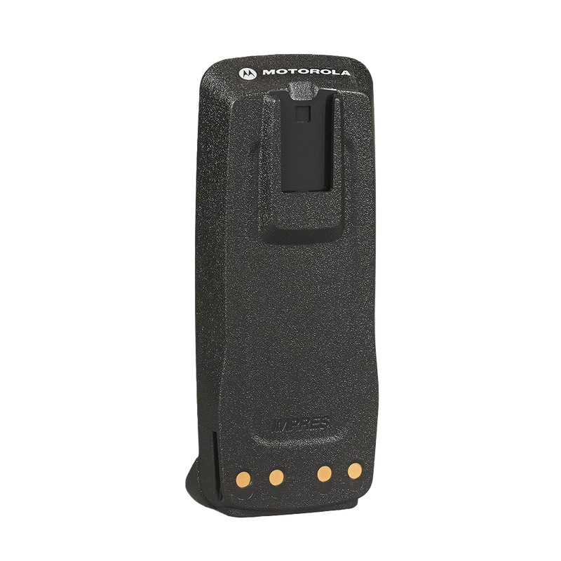 Back view of the Motorola-Accessory-PMNN4077 2,200 mAH Li-ion Battery. Compatible with Motorola XPR 6000 Series Radios.-Radio Depot
