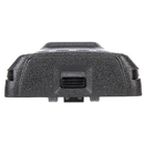 Bottom view of the Motorola-Accessory-PMNN4476 Li-ion, 1750T Battery for CP185 Series Radios.-Radio Depot