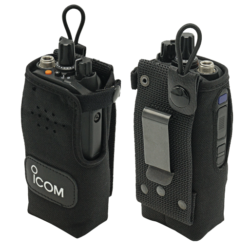 Icom-Accessory-ICOM NCF1034C Carry Case-ICOM NCF1034C Carry Case, Nylon with metal clip for non-display radios. Radio shown not included.-Radio Depot