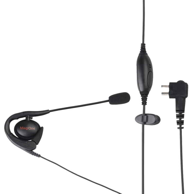 Motorola-Accessory-PMLN4444 Earset-Motorola PMLN4444 Mag One Earset with Boom Microphone with PTT and VOX-Radio Depot