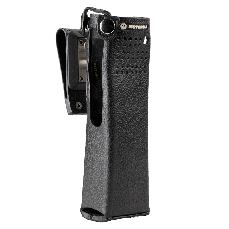 Motorola-Accessory-PMLN5327 Carry Case-Motorola PMLN5327 Carry Case, Leather w/2.75 Inch Swivel Belt Loop Fits APX7000 Radios.-Radio Depot