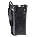 Motorola-Accessory-PMLN5875 Carry Case-Motorola PMLN5875 Carry Case, Leather w/2.75 Inch Swivel Belt Loop and D-Rings Fits APX6000XE and APX8000XE Radios.-Radio Depot
