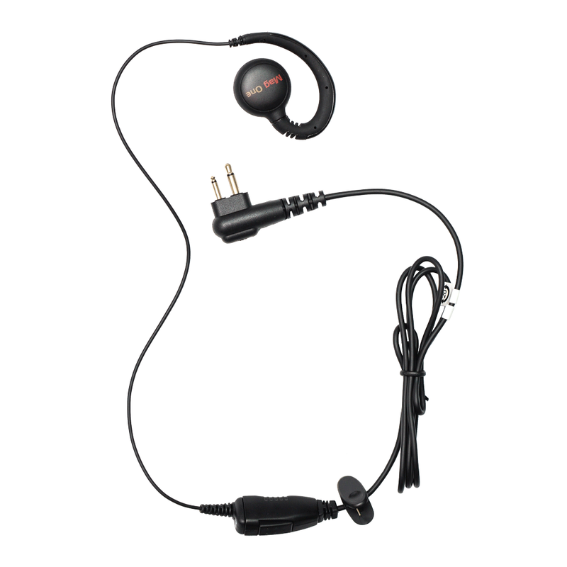 Motorola-Accessory-PMLN6532 Earpiece-Motorola PMLN6532 Swivel Earpiece with Microphone & PTT (Mag One)-Radio Depot