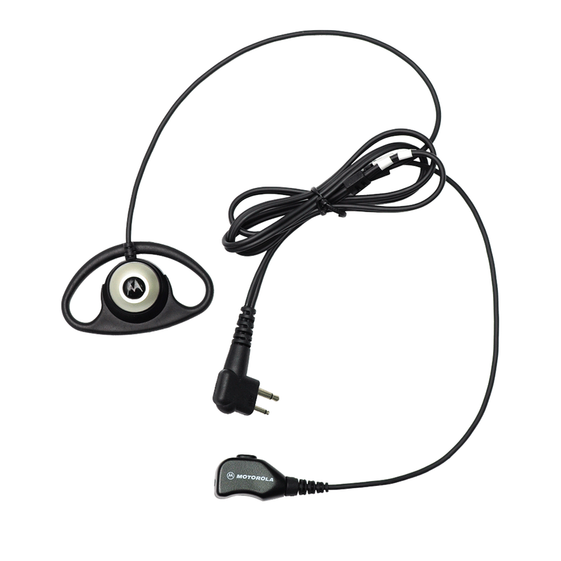 Motorola-Accessory-PMLN6535 Earpiece-Motorola PMLN6535 D-Style Earpiece with Microphone and PTT-Radio Depot