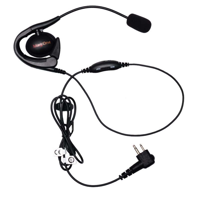 Motorola-Accessory-PMLN6537 Earset-Motorola PMLN6537 Earset with Boom Microphone and In-Line PTT / VOX Switch (Mag One)-Radio Depot