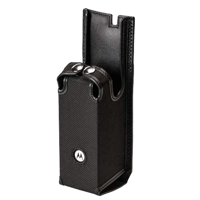 Motorola-Accessory-PMLN6712 Carry Case-Motorola PMLN6712 Carry Case, Nylon w/Fixed Belt Loop for APX Radios w/Clamshell Battery Fits APX7000 and APX8000 Radios.-Radio Depot