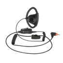 Motorola-Accessory-PMLN7159 Adjustable D-Style Earpiece-Adjustable D-style earpiece with in-line microphone and push-to-talk, black-Radio Depot