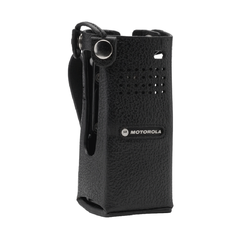 Motorola-Accessory-PMLN7903 Carry Case-Motorola PMLN7182 Carry Case, Leather w/2.5 Inch Swivel Belt Loop Fits APX1000 and APX4000 Radios.-Radio Depot