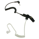 Motorola-Accessory-RLN4941 Receive Only Earpiece-Receive-Only Earpiece with translucent tube, rubber eartip and 3.5mm plug (for use with Remote Speaker Microphone - FM / UL Approved-Radio Depot