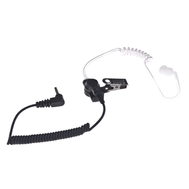 Icom-Accessory-ICOM SP-AT1 Earpiece-ICOM SP-AT1 Single Pin Earpiece, Listen Only w/Quick Disconnect Acoustic Tube, 9 Inch, 3.5mm Plug, L-Shaped-Radio Depot