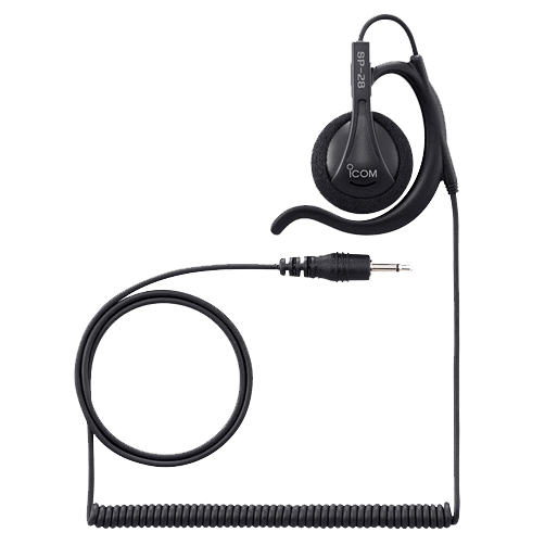Icom-Accessory-ICOM SP28 Earphone-ICOM SP28 Earhook Type Earphone with 2.5mm plug to use with HM163MC-Radio Depot
