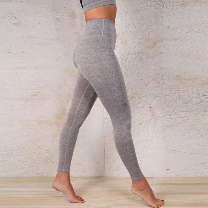 2 Piece Set Women Yoga Set High Waist Tracksuit Clothes Sexy Crop Top Slim Fitness Set - activewear