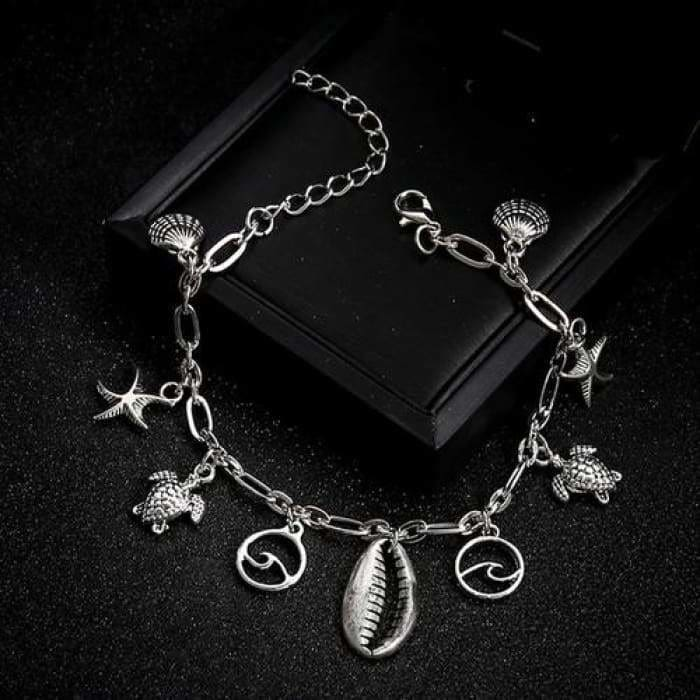 Chain Anklet Jewelry Beach Section - Jewelry & Watches