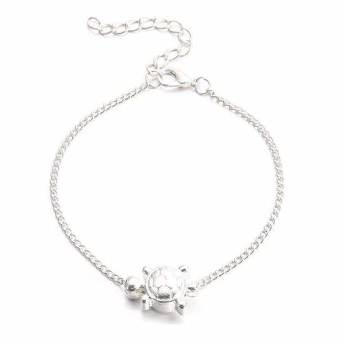 Chain Tortoise Anklet Jewelry - Jewelry & Watches