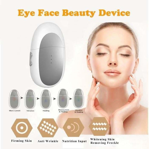 Eye Lift Anti Aging Machine Face Lift Skin Tightening Eye Bags Remover Massage Device For Face and Eye - accessories