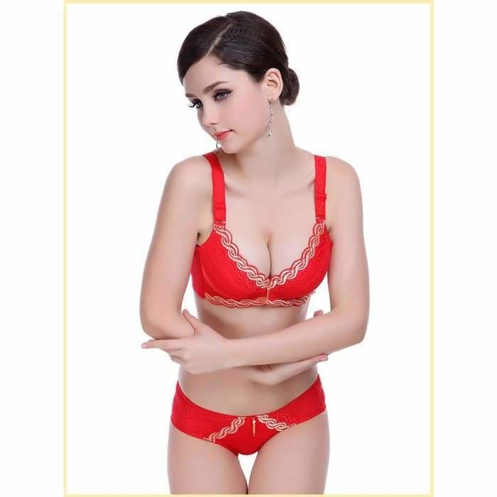 fashion thick cup sexy beauty push up lingerie bra for women Brassiere - Bibra.Store