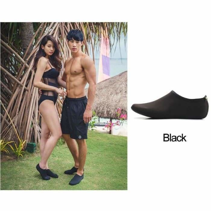 Men Women Swimming  Shoes,Solid Color Summer Aqua Beach Shoes - Bibra.Store