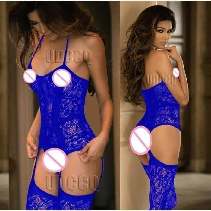 Sexy FishNet Lingerie Babydoll baby doll dress wedding night Underwear intimates Chemises Body stocking costumes Negligees - Bibra.Store