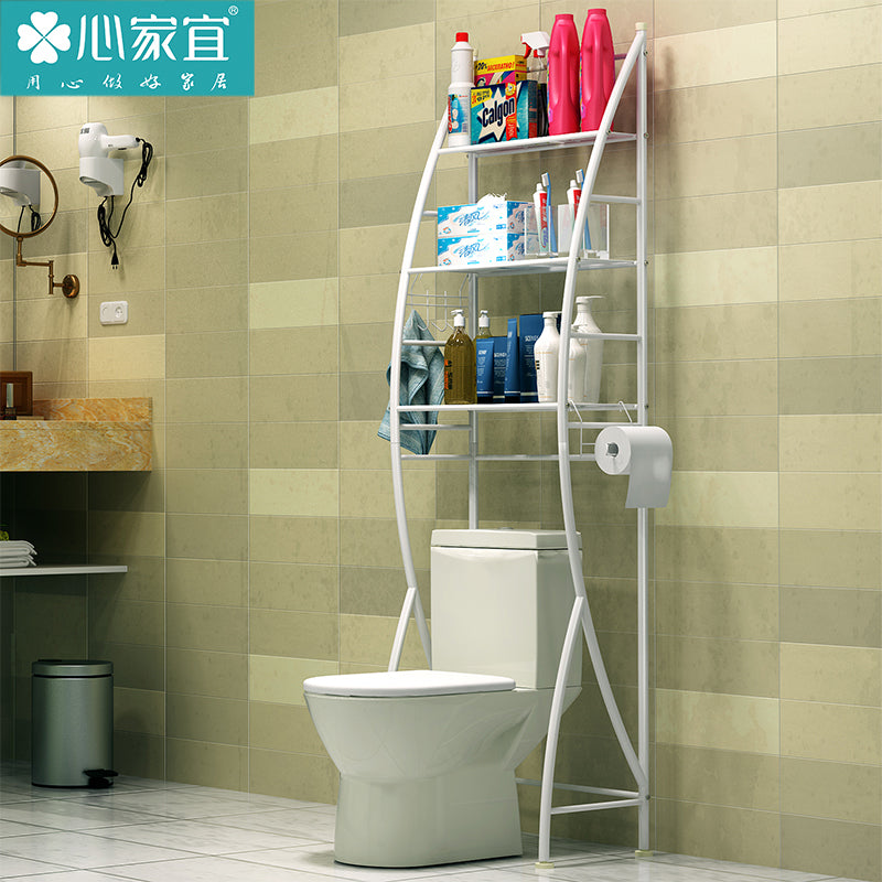 心家宜/SINGAYE/Best Brand/Anti-rust Bathroom Toilet Storage Rack/Shelf