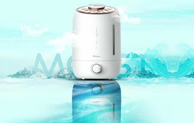 Deerma F500 5L High Capacity Ultrasonic Humidifier/ Aroma Oil/ SG Plug/ 1 Year SG Warranty