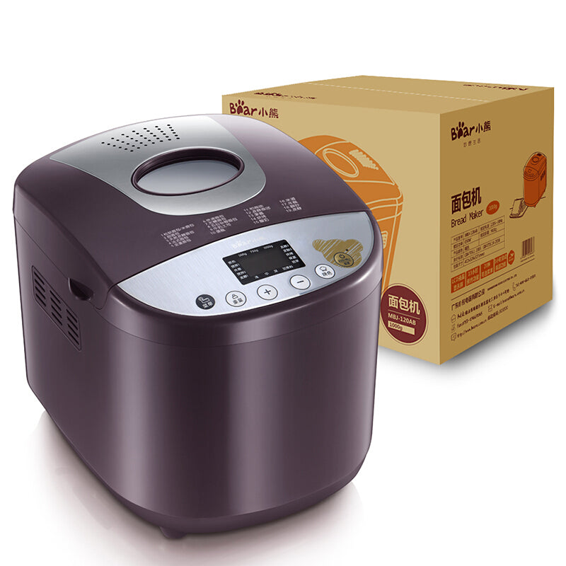 小熊/Bear MBJ-120AB Bread Maker/ 1000g Big Capacity/ SG Plug/ 1 Year SG Warranty
