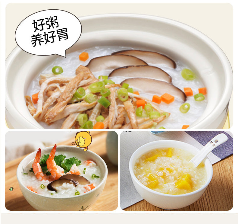 Bear DDG-D20M1 2L White Ceramic Slow Cooker/Mini Cooker/Glass Cover/8 Menus/9.5h Appointment/SG Plug/1Y Warranty