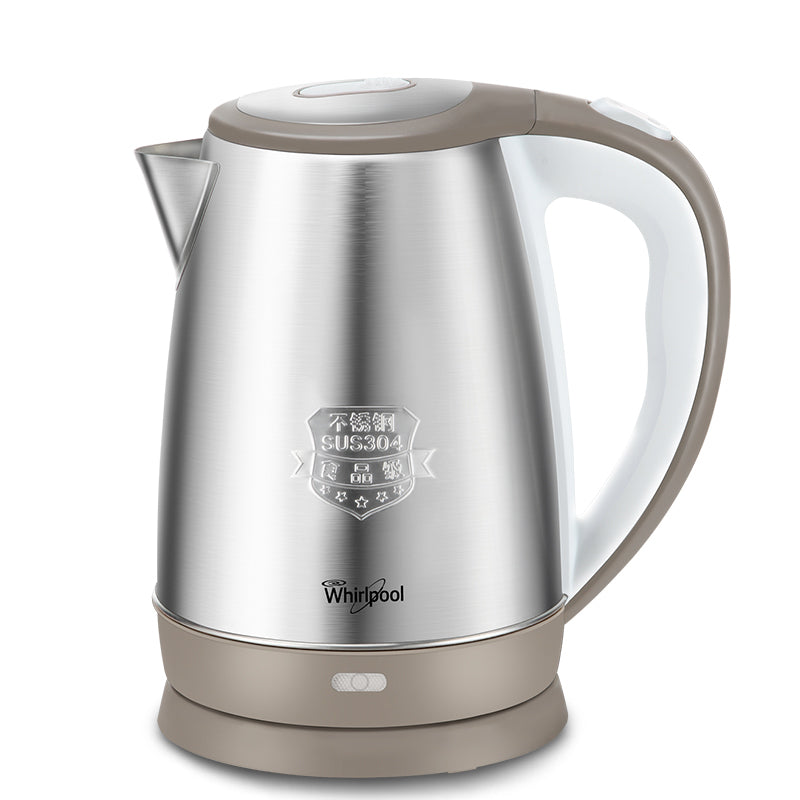 Whirlpool/惠而浦WEK-MS181F 1.8L Electric Kettle/ 1500W High Power/SG Plug/ 1 Year SG Warranty