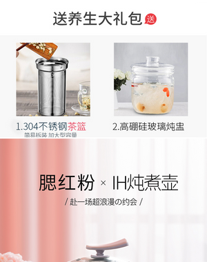 SKG 8141 1.8L Multi-functional Electric Curing pot / Healthty Teapot / Bird Nest Cooking Pot/ SG Plug/ 1 Year SG Warranty