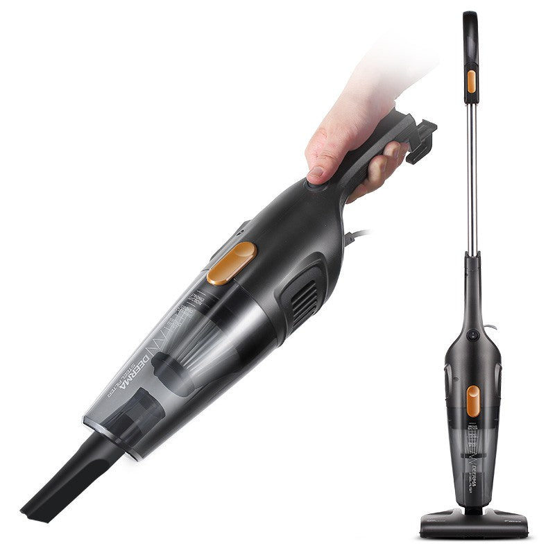 德尔玛/Deerma DX115C 2-in-1 Stick Vacuum Cleaner/ 600W High Power/ SG Plug/ 1 Year SG Warranty