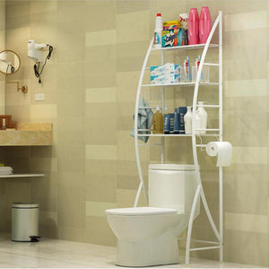 心家宜-Best Brand Anti-rust Bathroom Toilet Storage Rack/SG Warranty