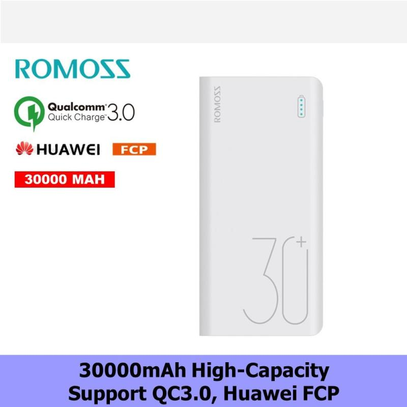 Romoss 30000mah Quick Charge 3.0 Power Bank/ 1 Month Local Warranty