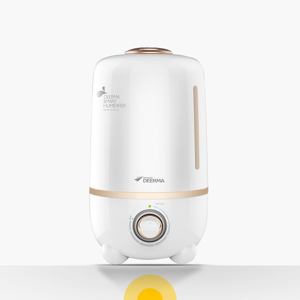 Deerma F450 4L Golden/Black Ultrasonic Humidifier/ Aroma Oil/ SG Plug/ 1 Year SG Warranty