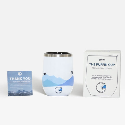 The Puffin Coffee Cup