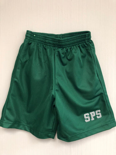 PE SHORT WITH LOGO